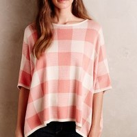 Picnicker Poncho by Anthropologie Rose