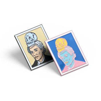 Warhol Polaroid Pin