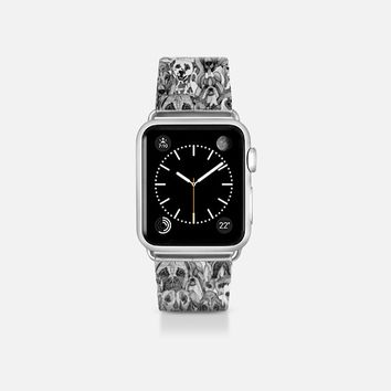 christmas dogs apple watch band Apple Watch Band (38mm)  by Sharon Turner | Casetify