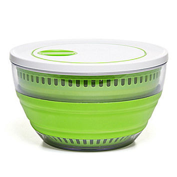 Prepworks by Progressive Collapsible Salad Spinner - Green
