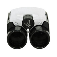 HERMES Rare Opera Glasses/Binoculars With Green Epsom Leather and Sterling Case