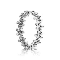 PANDORA | Dazzling Daisy Meadow Stackable Ring, Clear CZ
