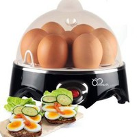 DB-Tech Electric Egg Cooker - With Automatic Shut off an Buzzer to notify you when the eggs are ready