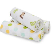 Bedtime Originals Curly Tails 3-Pack Swaddle Blankets - Walmart.com