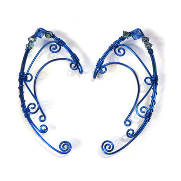 Cosplay Faerie Elf Ear Cuffs - Fantasy Jewelry