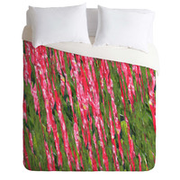 Rosie Brown Red Red Wine Duvet Cover