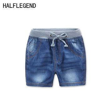 New Summer Style shorts for boys Children's Clothing Boys Denim Shorts Casual Kids jeans shorts for boy 2-12y baby boys clothes