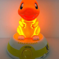 "KFC 2000 Pokemon Pocket Monster Voice Activated Control Light Charmander Ver 6"" Trading Figure"