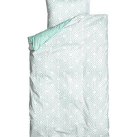 H&M - Twin Duvet Cover Set -