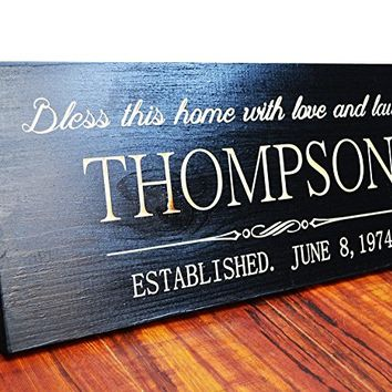 XMAS CHRISTMAS SPECIAL GIFT Rustic Five Year Anniversary gift for Brother Sister anniversary-Husband- Wedding Sign- Parents Grandparents Anniversary Unique Keepsake Gifts sign#37
