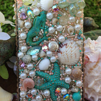 iPhone 4/4S Magnificent Mermaid Starfish Case