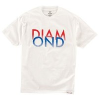 Diamond Supply Co White Sands T-Shirt - Men's at CCS