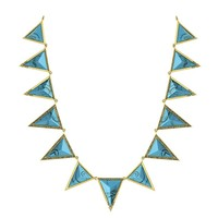 House of Harlow 1960 Jewelry Triangle Theorem Collar Necklace