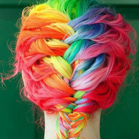 Premium Salon Grade Colored Hair Chalk - Choose 1 Large Stick - Temporary Color Pastels - Choose From 48 COLORS