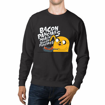 Adventure Time Jake's Bacon Pancakes Unisex Sweaters - 54R Sweater