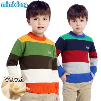 Winter Thermal Toddler Boys Knit Sweater 56