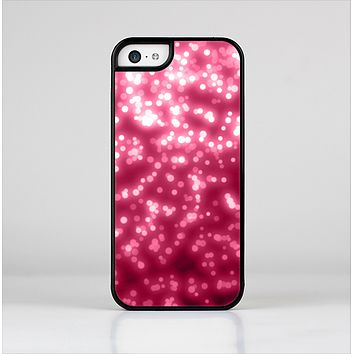 The Glowing Unfocused Pink Circles Skin-Sert Case for the Apple iPhone 5c