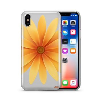 Yellow Daisy - Clear TPU Case Cover Phone Case