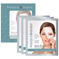 Masque*ology Anti-Oxidant Masque With Rice Bran Extract (3 Masks x 1.06 oz)