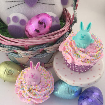 Easter Basket Favors - Easter Basket Stuffers - Easter Gifts for Kids - Easter Bath Bombs - Easter Basket Fillers - Kids Easter Gifts