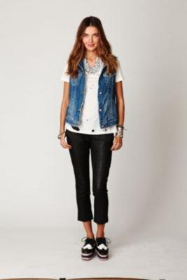 Maison Scotch Shimmer Pants at Free People Clothing Boutique