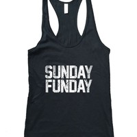 RexLambo Women's Sunday Funday Racerback Tank Top