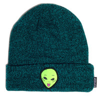 We Out Here Beanie (Forest) | RIPNDIP