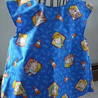 Children's apron/cover up.