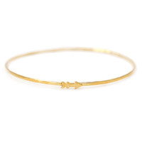 Arrow Charm Bangle