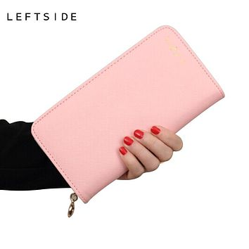 Ladies wallet Coin Purse clutch long thin leather wallets female zipper bills Purses Coin bags clip women bag NEW wallets