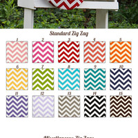 MADE TO ORDER Zig Zag Prints Saddle Cover Many Colors