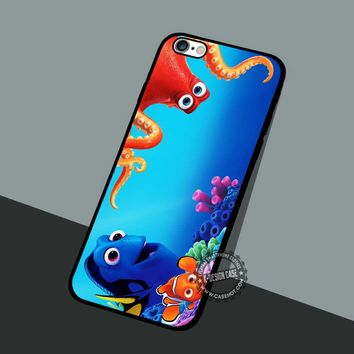 Hank And Dory Finding Nemo - iPhone 7 6 5 SE Cases & Covers #cartoon #animated #FindingNemo