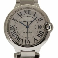 Cartier Ballon Bleu swiss-automatic womens Watch W69012Z4 (Certified Pre-owned)