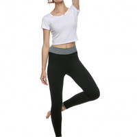 Women Elastic Slim Yoga Pants