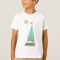 Sailing boat art t-shirts
