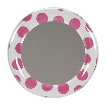 Locker Lookz Mirror Pink Dot at Joann.com