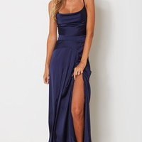 Camilla Maxi Dress Navy