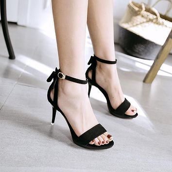 Platform Open Toe Ankle Lace Up Wrap Stiletto High Heels Sandals