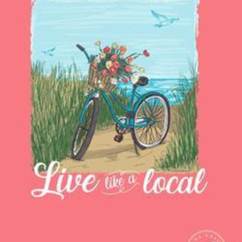 "AG ""Live Like a Local"" Comfort Color Tee"
