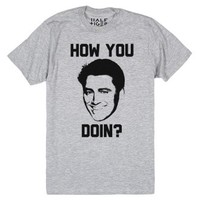 How You Doin?-Unisex Heather Grey T-Shirt
