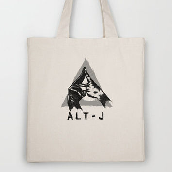 alt-j ∆  Tote Bag by TwO Owls | Society6