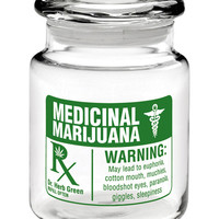 MEDICAL RX STASH JAR