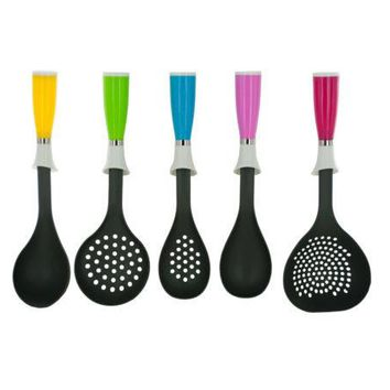 Kitchen Utensil with Colorful Handle Assortment ( Case of 18 )