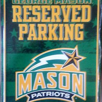 George Mason Patriots METAL Wall Novelty Parking Sign University of