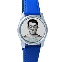 Portrait Illustration Vector Wrist Watch