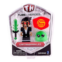 CaptainSparklez Tube Heroes Action Figure