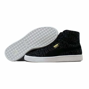 Puma Suede Mid X Stuck Black Alife 358866 01