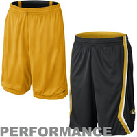 Nike Missouri Tigers Classic Reversible Performance Basketball Shorts - Black/Gold