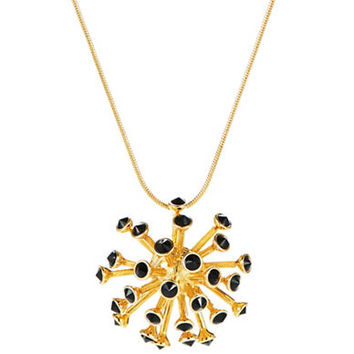 Trina Turk Spiked Pendant Necklace