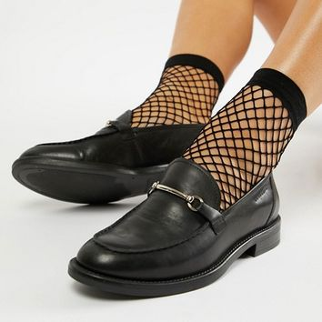 Vagabond Amina Leather Loafer with Horse-bit Detail at asos.com